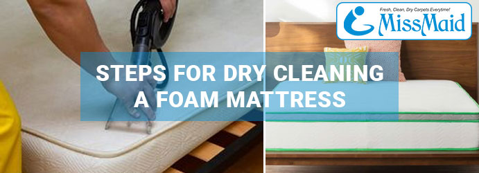 Foam Mattress Dry Cleaning