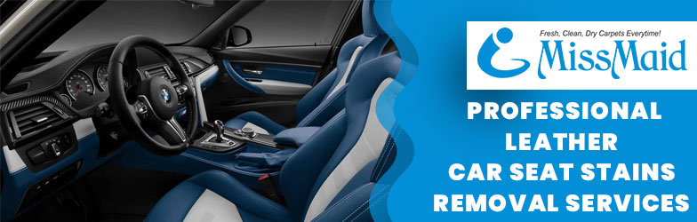Professional Leather Car Seat Stains Removal Services